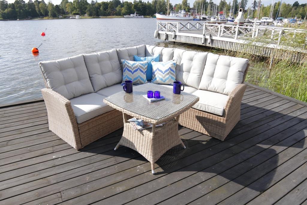 bord, utemöbler, balkong, altan, uterum, möbler, svenssons ...